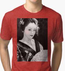 Blossom Geisha  Tri-blend T-Shirt