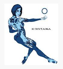 Cortana meet Cortana Photographic Print