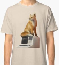 The Fox on a Computer Classic T-Shirt