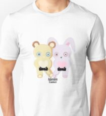 Adorable Gamer ~ Teddy & Bunny Unisex T-Shirt