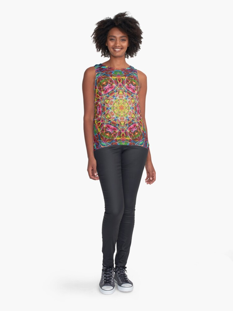 Alternate view of Amulet of life Sleeveless Top