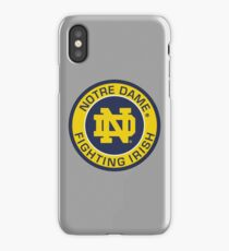 Notre Dame Fighting Irish iPhone Case/Skin