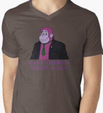 Make America Grape Again Men's V-Neck T-Shirt