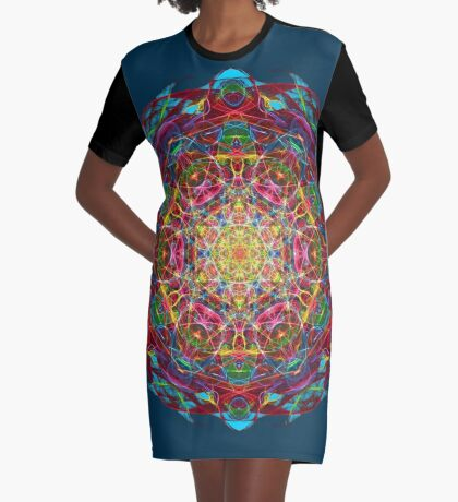 Amulet of life Graphic T-Shirt Dress