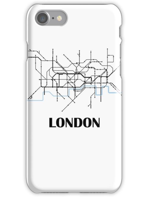 London tube map by MadeleineKyger