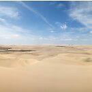 Expansive sand dunes panorama by Ben Ryan