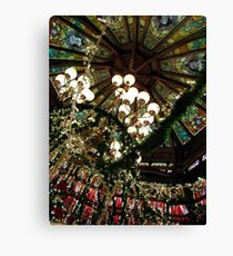 Ceiling Decor - Red and Green Canvas Print