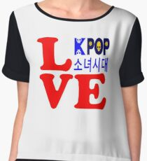 ♥♫Love SNSD-Girls' Generation Fabulous K-Pop Clothes & Phone/iPad/Laptop/MackBook Cases/Skins & Bags & Home Decor & Stationary & Mugs♪♥ Chiffon Top