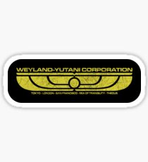 The Weyland-Yutani Corporation Wings Sticker