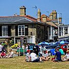 Make mine a cold one( Southwold Town Center) by Karen  Betts