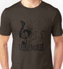 Treble Maker Music Pun T-Shirt