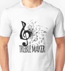 Treble Maker Music Pun T-Shirt