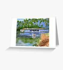 AUDLEY BOATSHED NSW Greeting Card