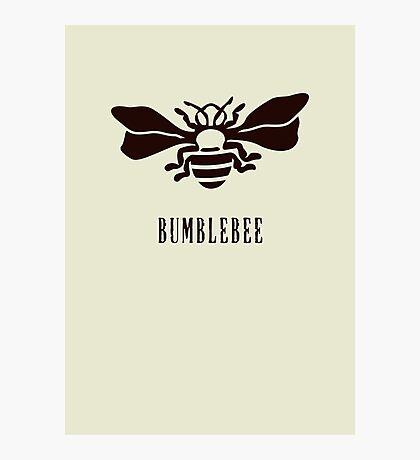 Bumblebee VRS2 Photographic Print