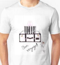 Bon Voyage Watercolour Illustration Unisex T-Shirt