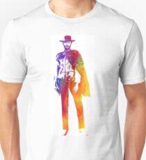 Technicolor Clint Eastwood Unisex T-Shirt
