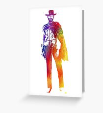 Technicolor Clint Eastwood Greeting Card