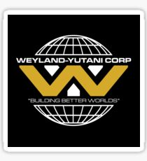 The Weyland-Yutani Corporation Globe - Clean Sticker