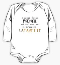 Fluent French One Piece - Long Sleeve