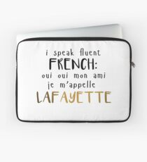 Fluent French Laptop Sleeve