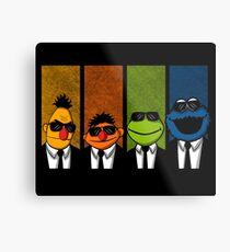 Reservoir Muppets Metal Print