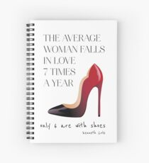Christian Louboutin shoes Spiral Notebook