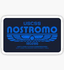 USCSS Nostromo - Alien - Logo Sticker