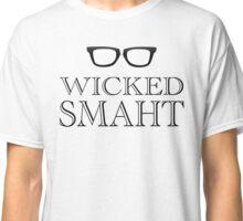 Wicked Smarht(Smart) Boston Humor Classic T-Shirt