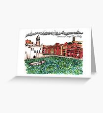 Vernazza Greeting Card