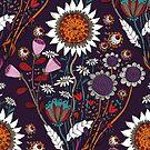 Purple Boheme by mariabogade