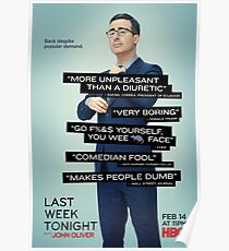 Last Week Tonight Poster