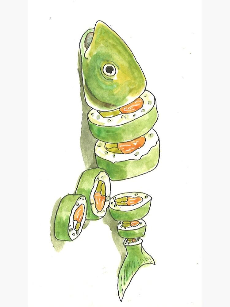 Sushi Folie de laramaktub