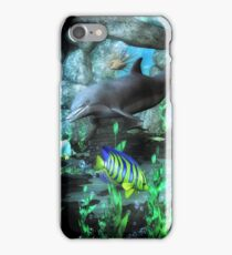Dolphin's Under The Sea   iPhone Case/Skin