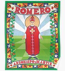Archbishop Romero Icon Poster