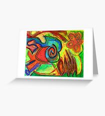 Mapping Nature Greeting Card