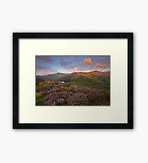 Over Blea Tarn Framed Print