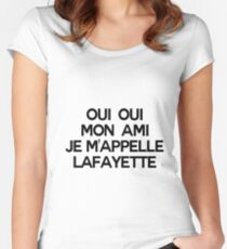 LAFAYETTE (Hamilton) Women's Fitted Scoop T-Shirt