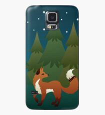 Forest Fox Case/Skin for Samsung Galaxy
