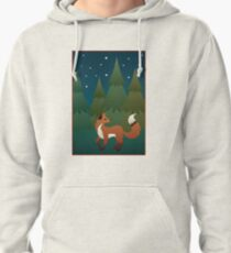 Forest Fox Pullover Hoodie