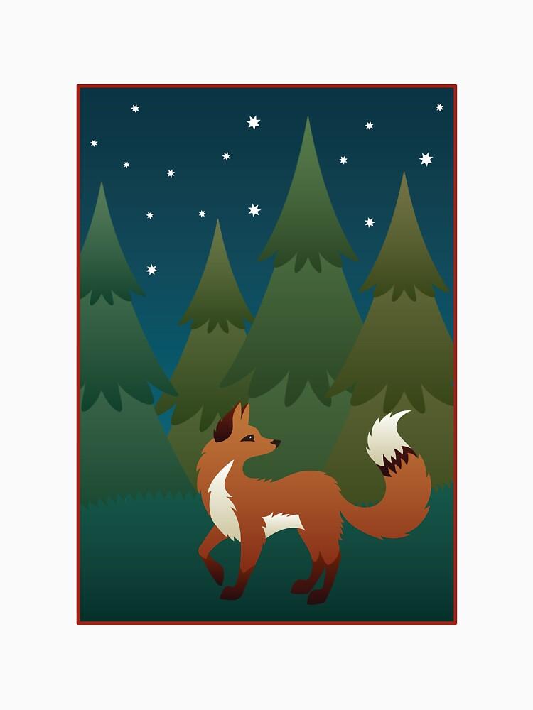 Forest Fox by CGafford