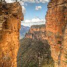 Hanging Rock vista .. the long view by Michael Matthews