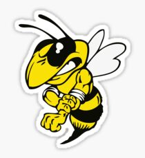 Fairview High School fighting Yellow Jacket - right Sticker