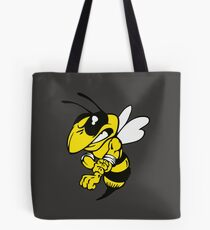 Fairview High School fighting Yellow Jacket - right Tote Bag