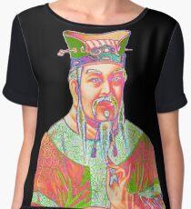 Confucius Chiffon Top
