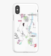 London Guide Watercolour Illustration iPhone Case/Skin