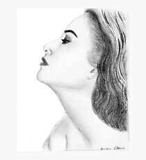 Grace Kelly drawing Photographic Print