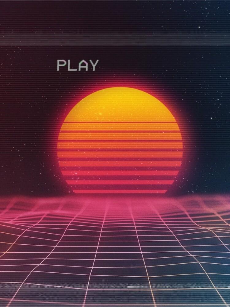 Puesta de sol digital de PussyDew