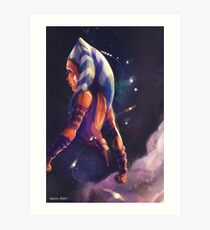 Ahsoka Leaves Art Print