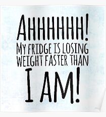 Weight Problems? Poster
