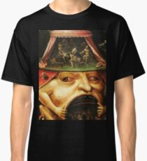Hieronymus Bosch monster eating people Classic T-Shirt